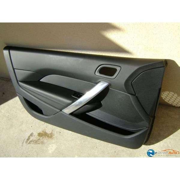 Panneau interieur de porte avant cuir noir peugeot 308 cc - Panneau habillage porte interieur ...
