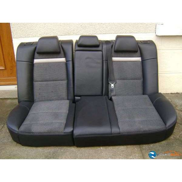 banquette arriere semi cuir noir peugeot 307 phase 2. Black Bedroom Furniture Sets. Home Design Ideas