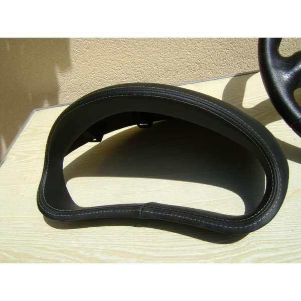casquette compteur cuir peugeot 206 rc phase 1. Black Bedroom Furniture Sets. Home Design Ideas