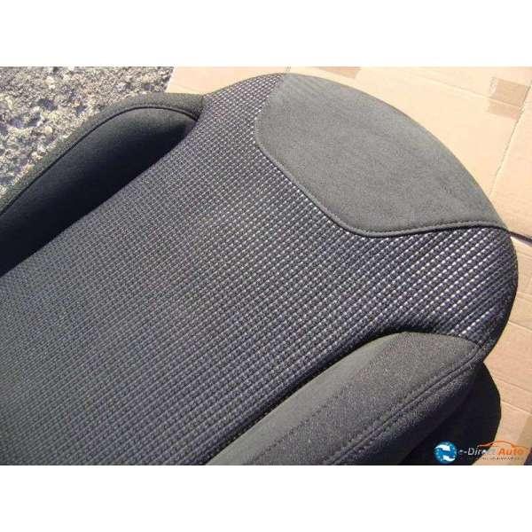 assise velours noir siege avant gauche chauffeur citroen c3 c3 phase 2. Black Bedroom Furniture Sets. Home Design Ideas