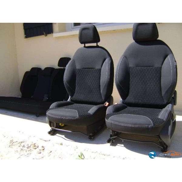 siege avant citroen c3 c 3 phase 2 velours noir exclusive. Black Bedroom Furniture Sets. Home Design Ideas