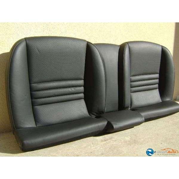 banquette arriere cuir noir peugeot 407 coupe. Black Bedroom Furniture Sets. Home Design Ideas