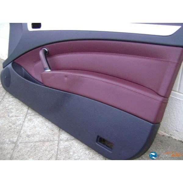 Panneau interieur garniture cuir cerbere bordeaux porte for Interieur 407 coupe