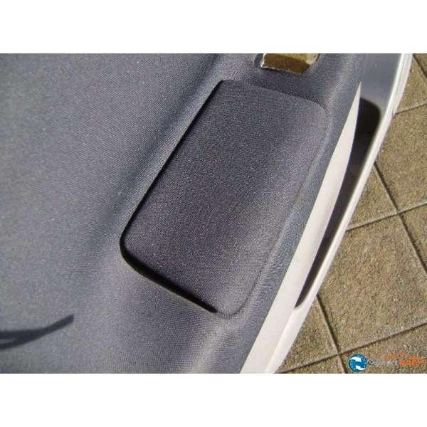 Panneau interieur porte garniture renault modus tissus noir for Porte interieur noir