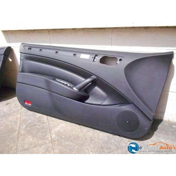 Panneau interieur porte avant gauche chauffeur cuir noir for Interieur 407 coupe