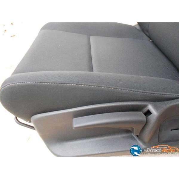 siege chauffeur tissus noir renault megane 3. Black Bedroom Furniture Sets. Home Design Ideas