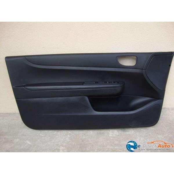 Panneau interieur de porte cuir noir peugeot 307 version 3 for Porte interieur noir