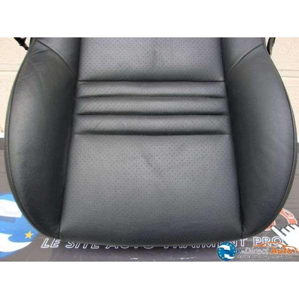 siege avant cuir noir mistral peugeot 407 coup. Black Bedroom Furniture Sets. Home Design Ideas