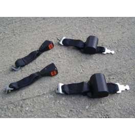 2 ceintures de sécurité arrières Volkswagen Scirocco