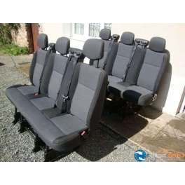 2 banquettes arriere renault master serie 3