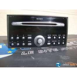 autoradio ford sony MP3 RDS