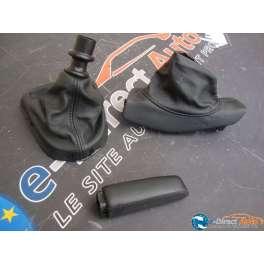 souflet de levier de vitesse cuir noir peugeot 308 phase 1