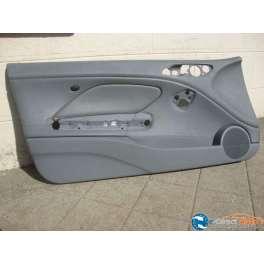 panneau de porte chauffeur cuir gris coupé bmw E46
