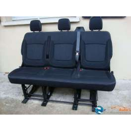 banquette arriere rabatable renault trafic serie 3