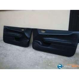 panneau interieur de porte cuir noir peugeot 307 cc