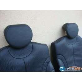 appuie tete cuir noir de banquette arriere pour mini cooper S  R50 R 53
