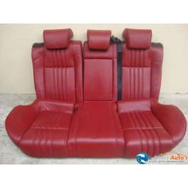 banquette arriere alfa romeo 159 sw cuir rouge