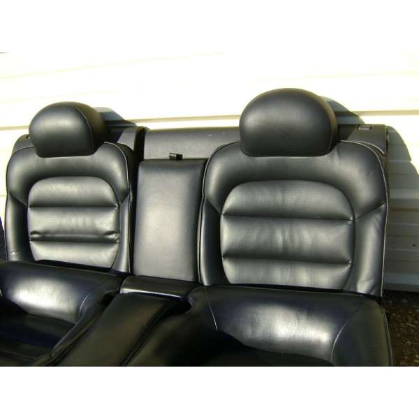 banquette arriere cuir noir peugeot 406 coup. Black Bedroom Furniture Sets. Home Design Ideas