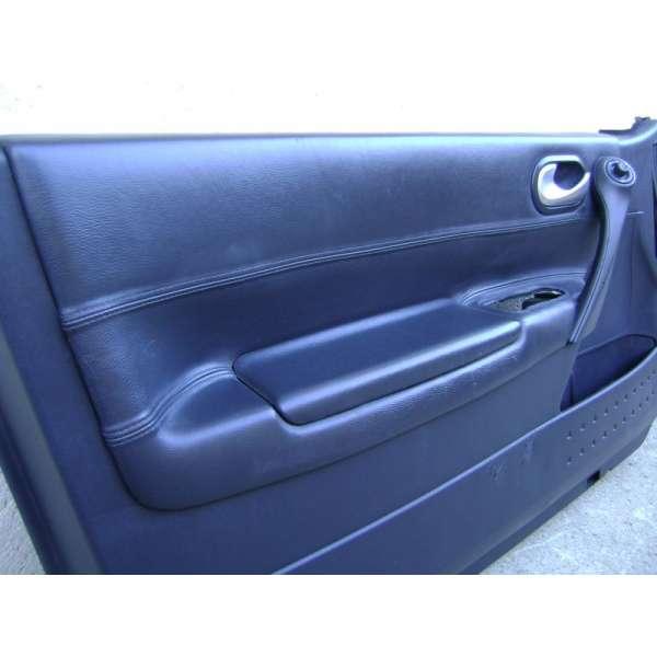 430036ddcbe9 garniture panneau de portes interieur cuir noir renault megane 2 ...