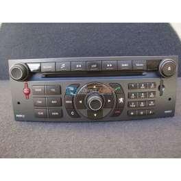 autoradio GPS peugeot 407 coupé RT3ev-N3-Q2 reference 96650244XA