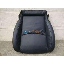 assise de siege chauffeur cuir noir peugeot 4007 feline
