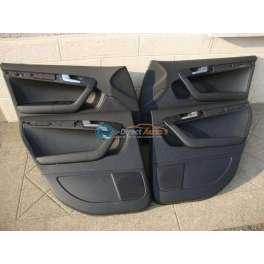 panneau interieur de porte cuir noir audi A3 8P sportback