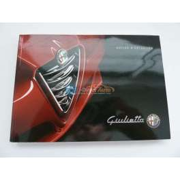 notice utilisation alfa romeo giulietta