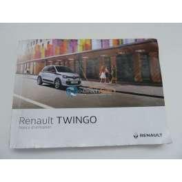 notice utilisation renault twingo serie 3