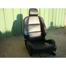 siege chauffeur cuir noir peugeot 307 cc