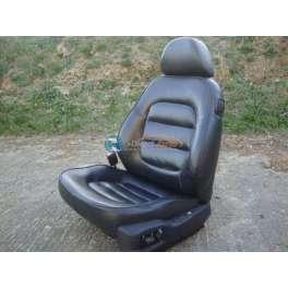 siege chauffeur cuir noir peugeot 406 coupé