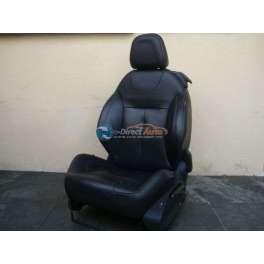siege chauffeur cuir noir citroen DS3