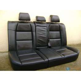 banquette arriere cuir noir peugeot 307 version 5 portes. Black Bedroom Furniture Sets. Home Design Ideas