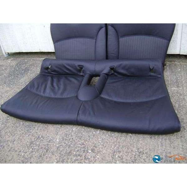 banquette arriere cuir noir mini cooper r 56. Black Bedroom Furniture Sets. Home Design Ideas